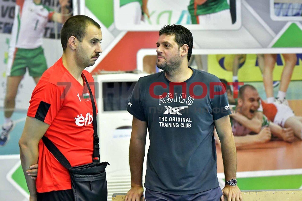 Национали Волейбол мъже Тренировка Пламен Константинож(8)