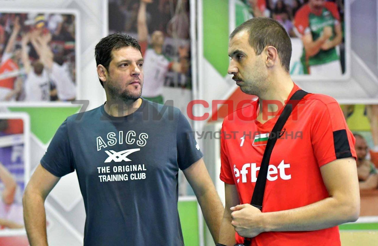 Национали Волейбол мъже Тренировка Пламен Константинож(9)