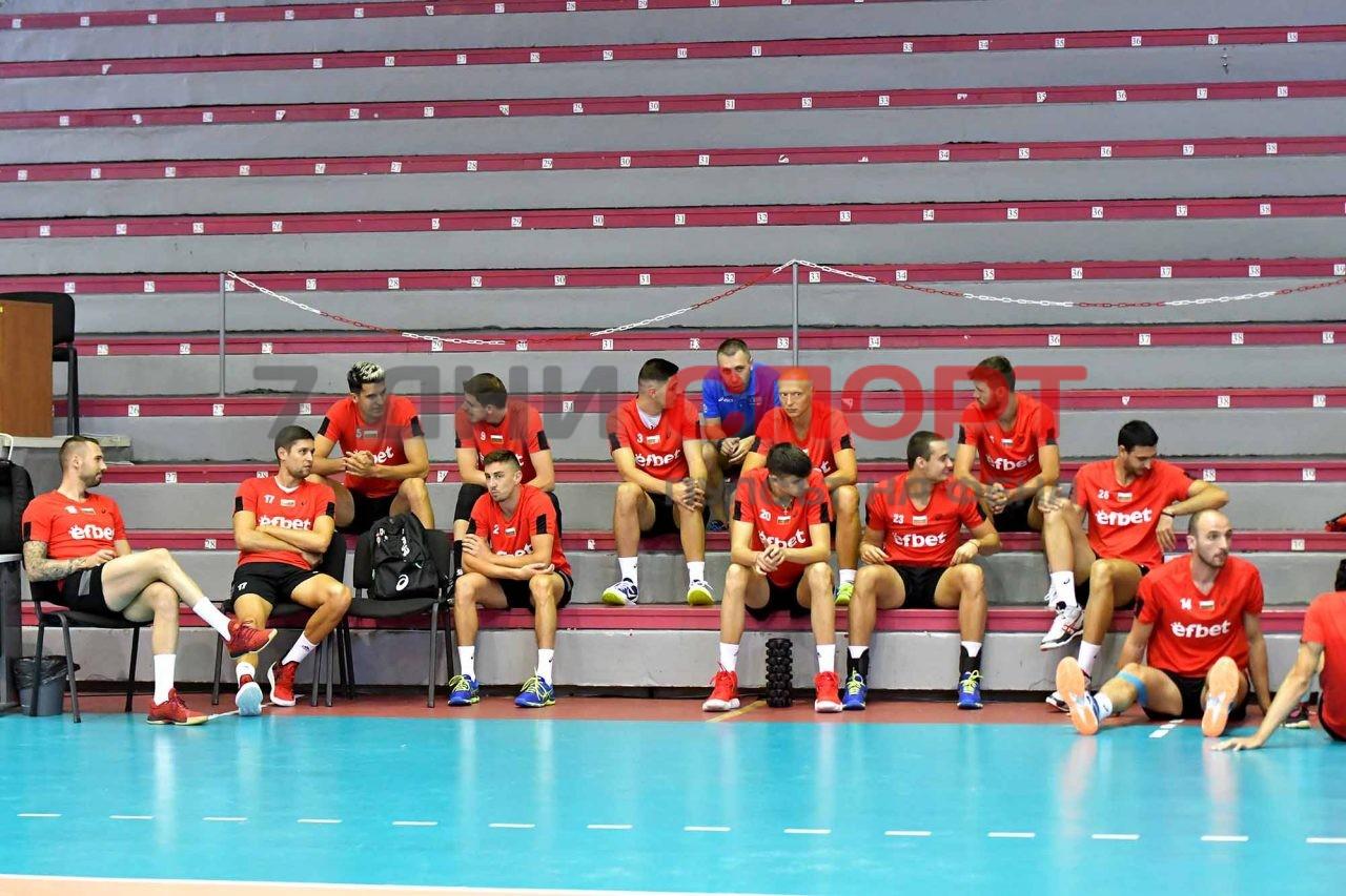 Национали Волейбол мъже Тренировка (1)