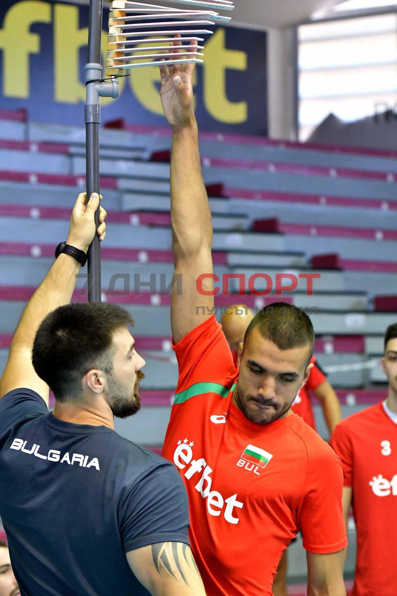 Национали Волейбол мъже Тренировка (11)