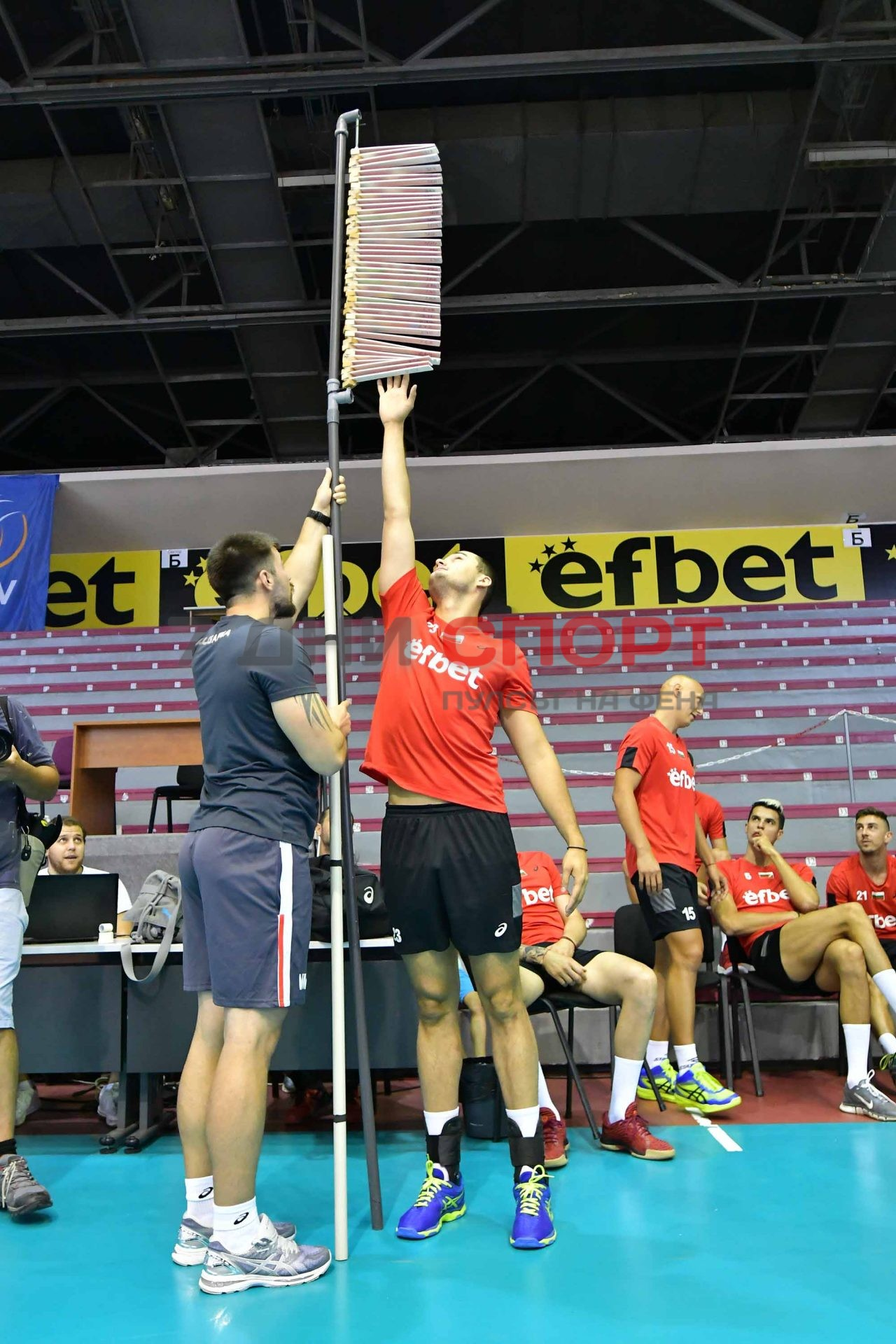 Национали Волейбол мъже Тренировка (12)
