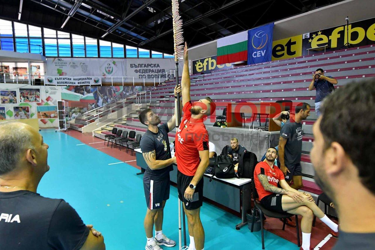 Национали Волейбол мъже Тренировка (13)