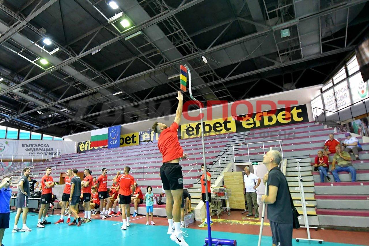 Национали Волейбол мъже Тренировка (14)