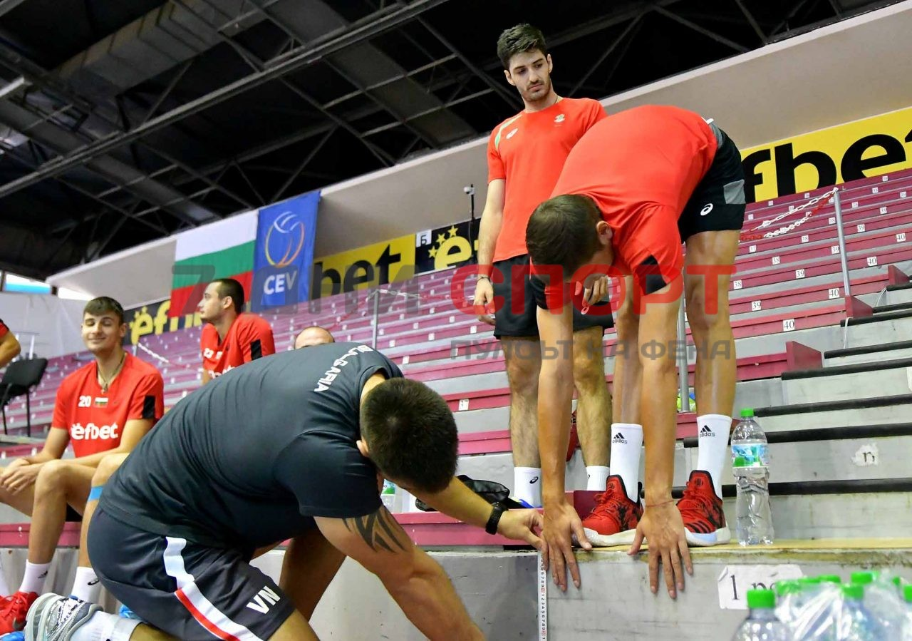 Национали Волейбол мъже Тренировка (15)