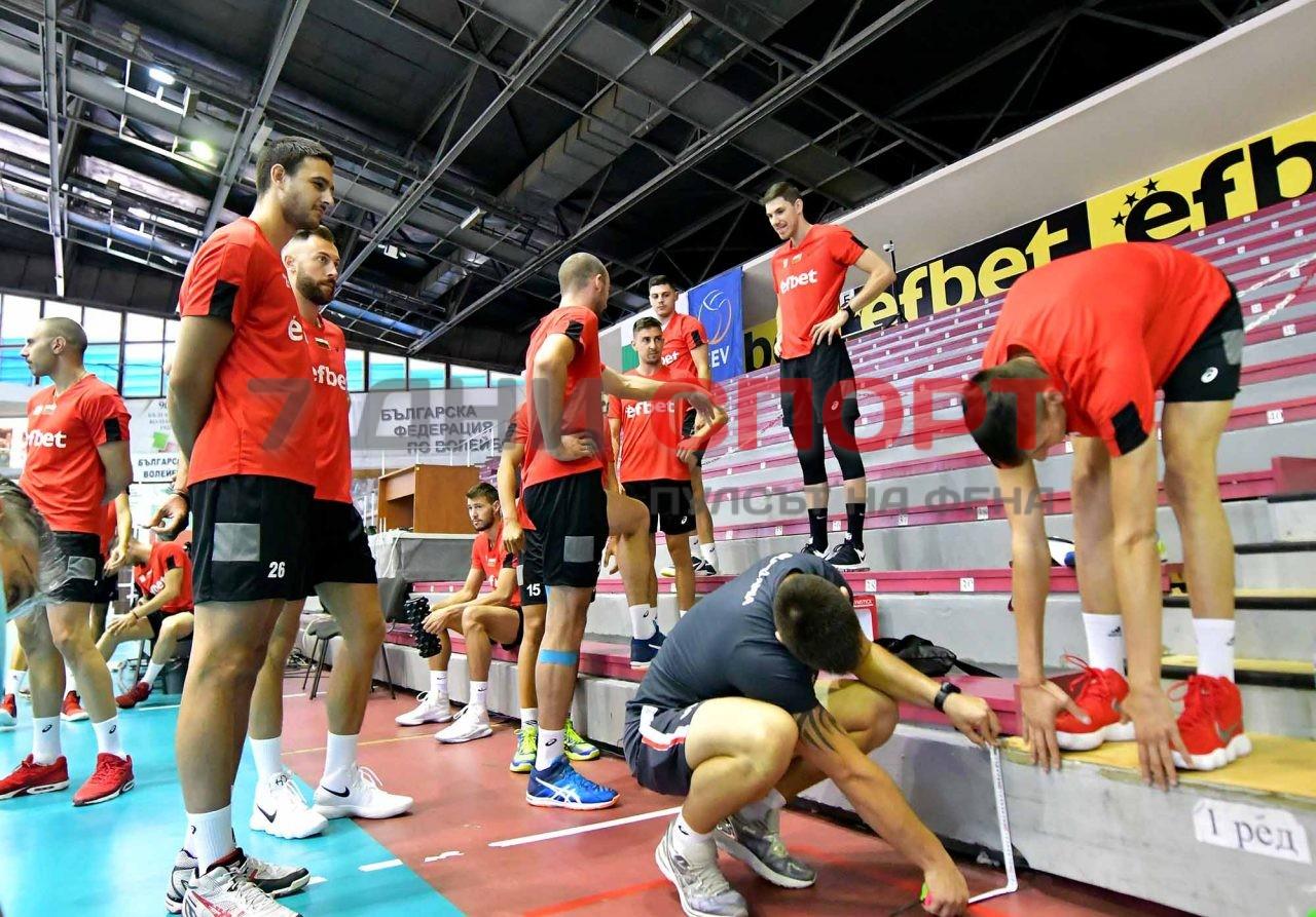 Национали Волейбол мъже Тренировка (16)