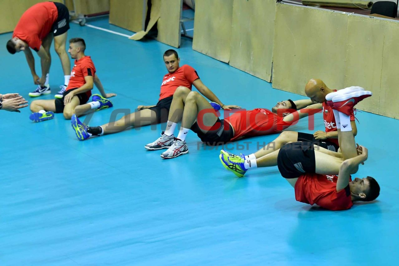 Национали Волейбол мъже Тренировка (17)
