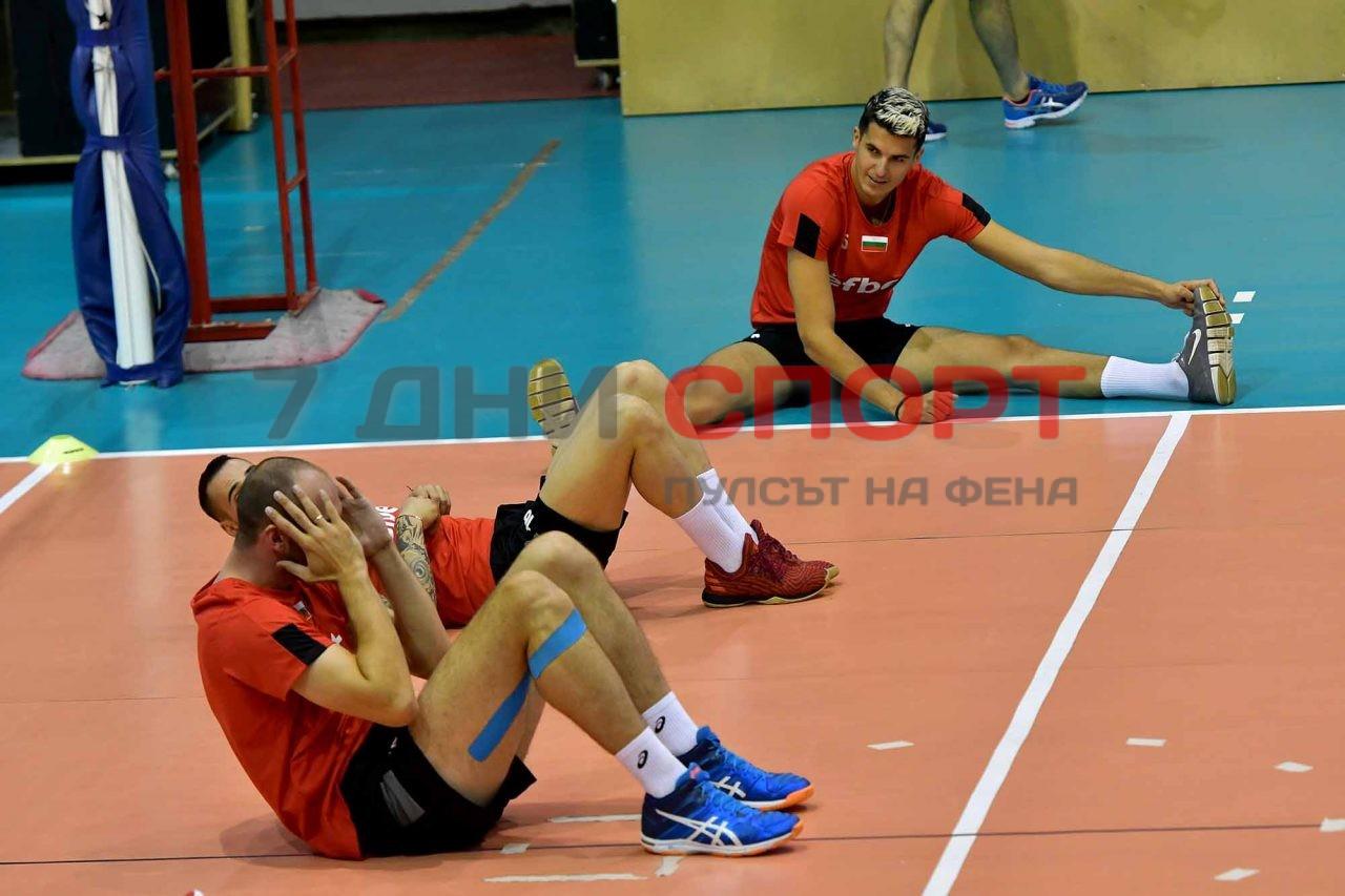 Национали Волейбол мъже Тренировка (18)