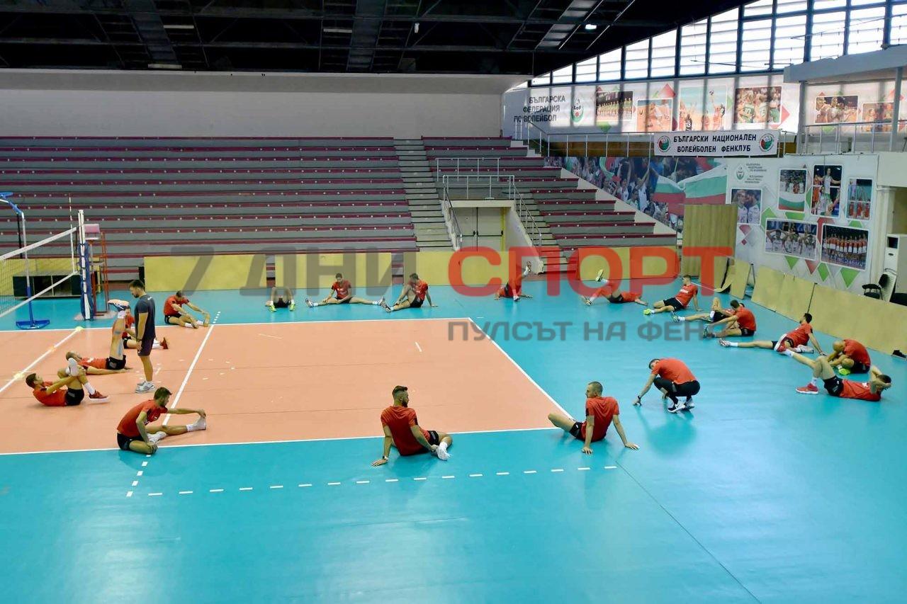 Национали Волейбол мъже Тренировка (20)