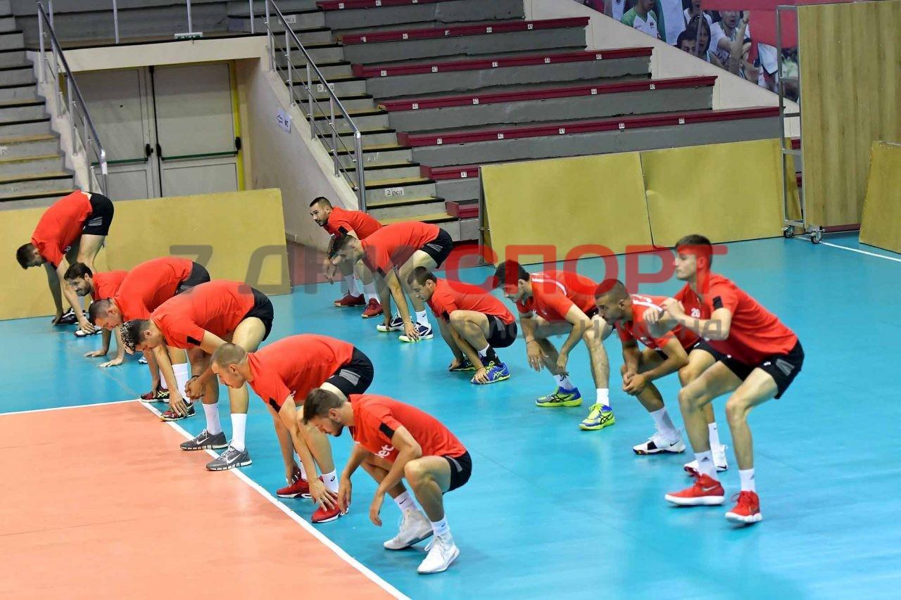 Национали Волейбол мъже Тренировка (21)