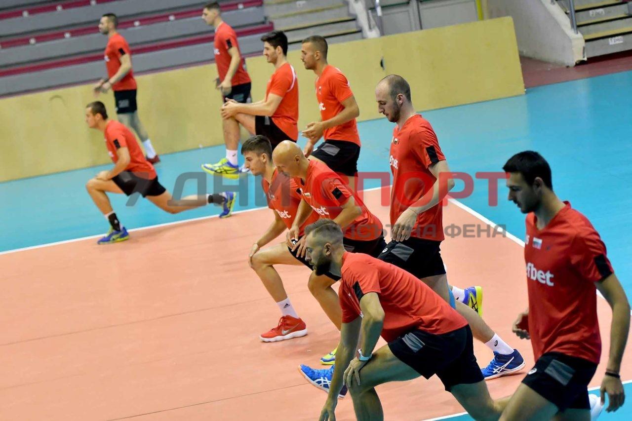 Национали Волейбол мъже Тренировка (22)