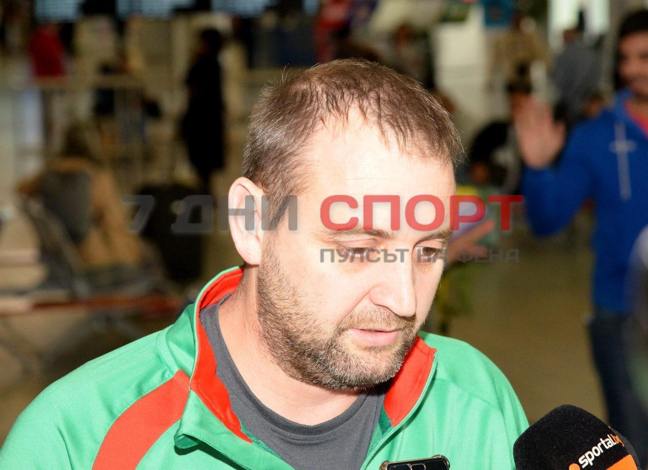 Прибиране на национален отбор волейбол жени летище (16)