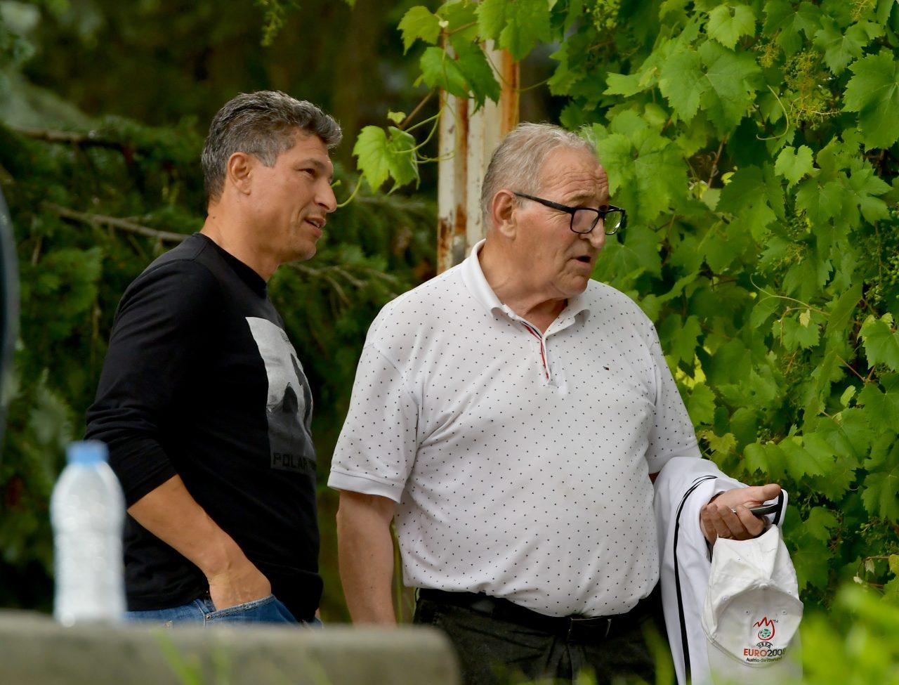 ЦСКА - Етър, контрола, Красимир Балъков, Димитър Пенев