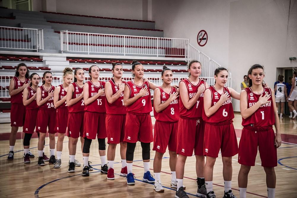 Баскетбол - Националки - момичета до 16 години