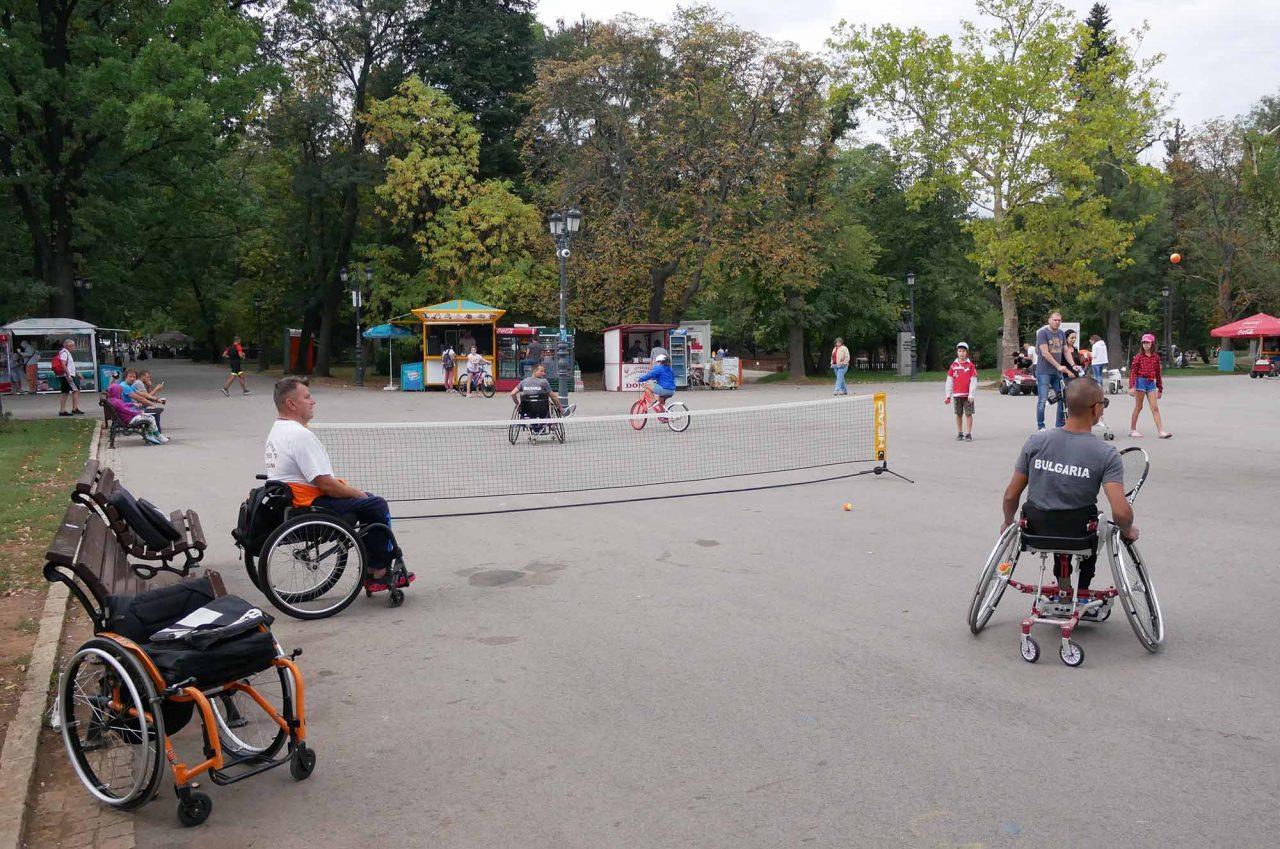 Александър Лазаров с открит урок в Борисовата градина (1)