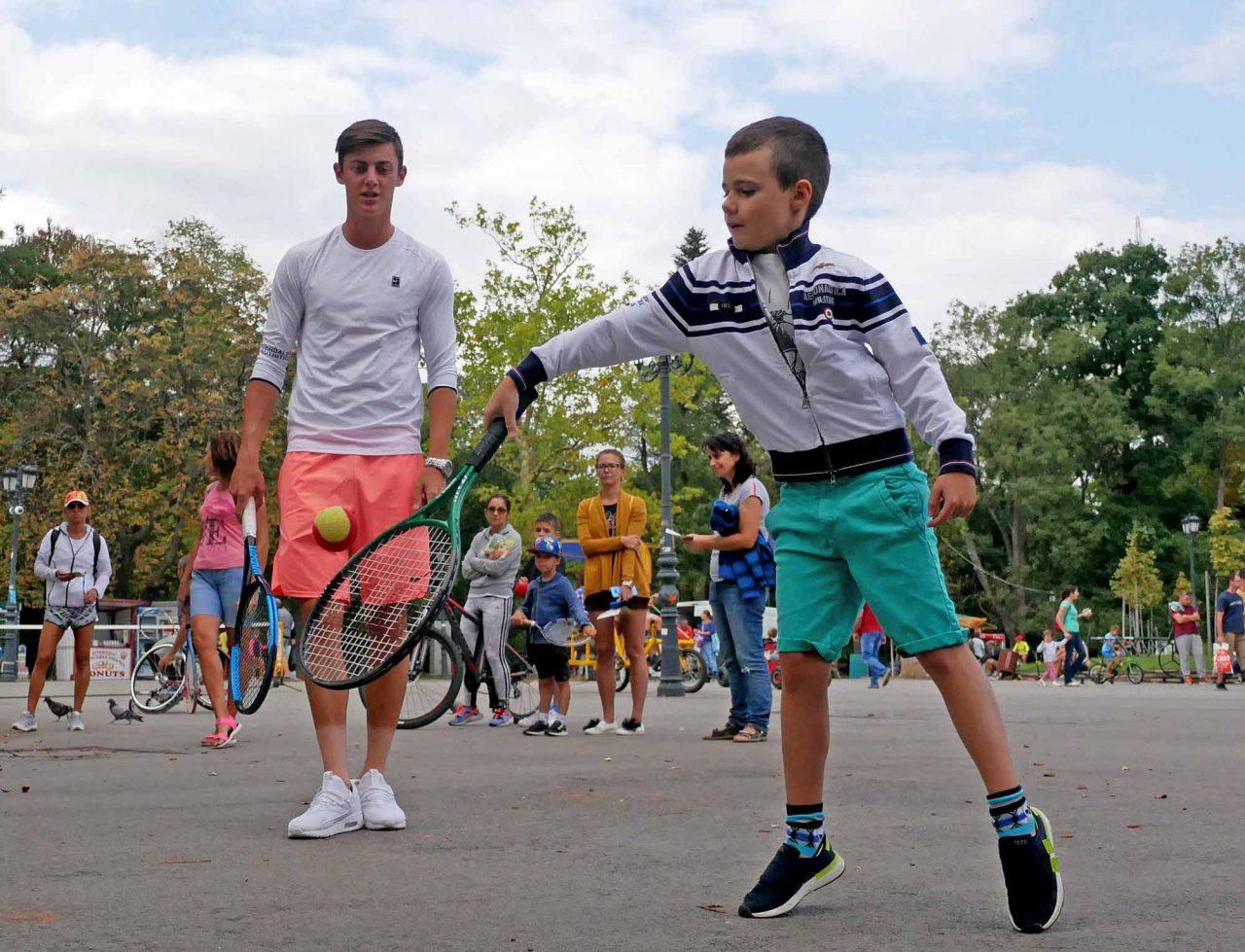 Александър Лазаров с открит урок в Борисовата градина (8)