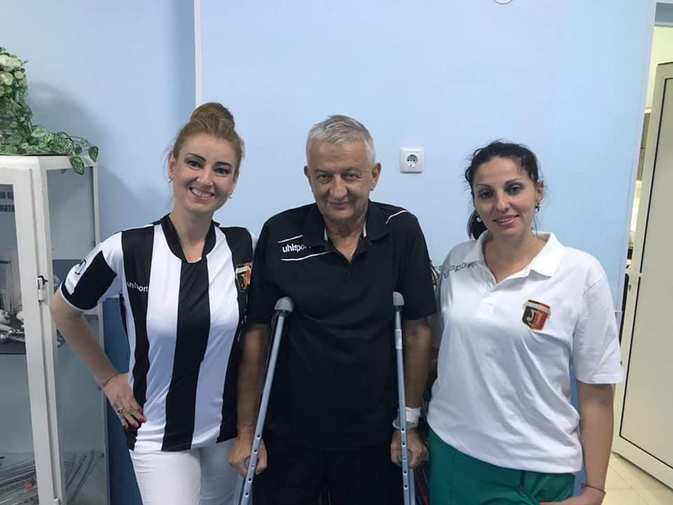 Крушарски в клиника на МВР след операция