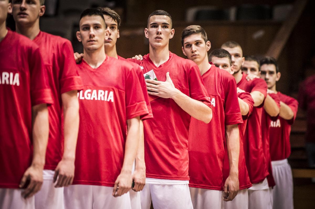 баскетбол - България до 20 години на Европейското в София
