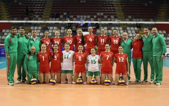 жени национален отбор волейбол