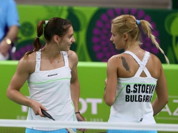 бадминтон - Сестри Стоеви - Габриела и Стефани