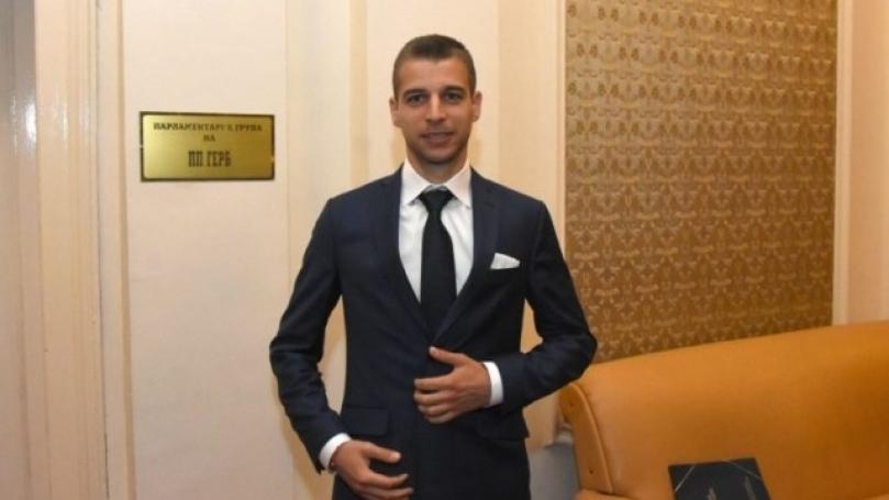 Съдия - Стефан Апостолов - депутат