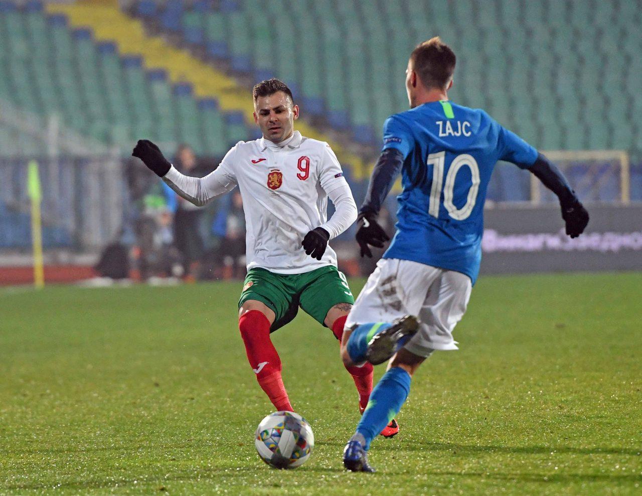 Спас Делев България Словения Лига на Нацийте 2