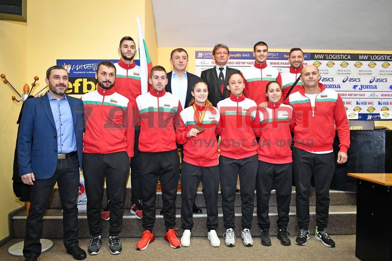 Карате национален отбор Ивет Горанова Алексей Петров