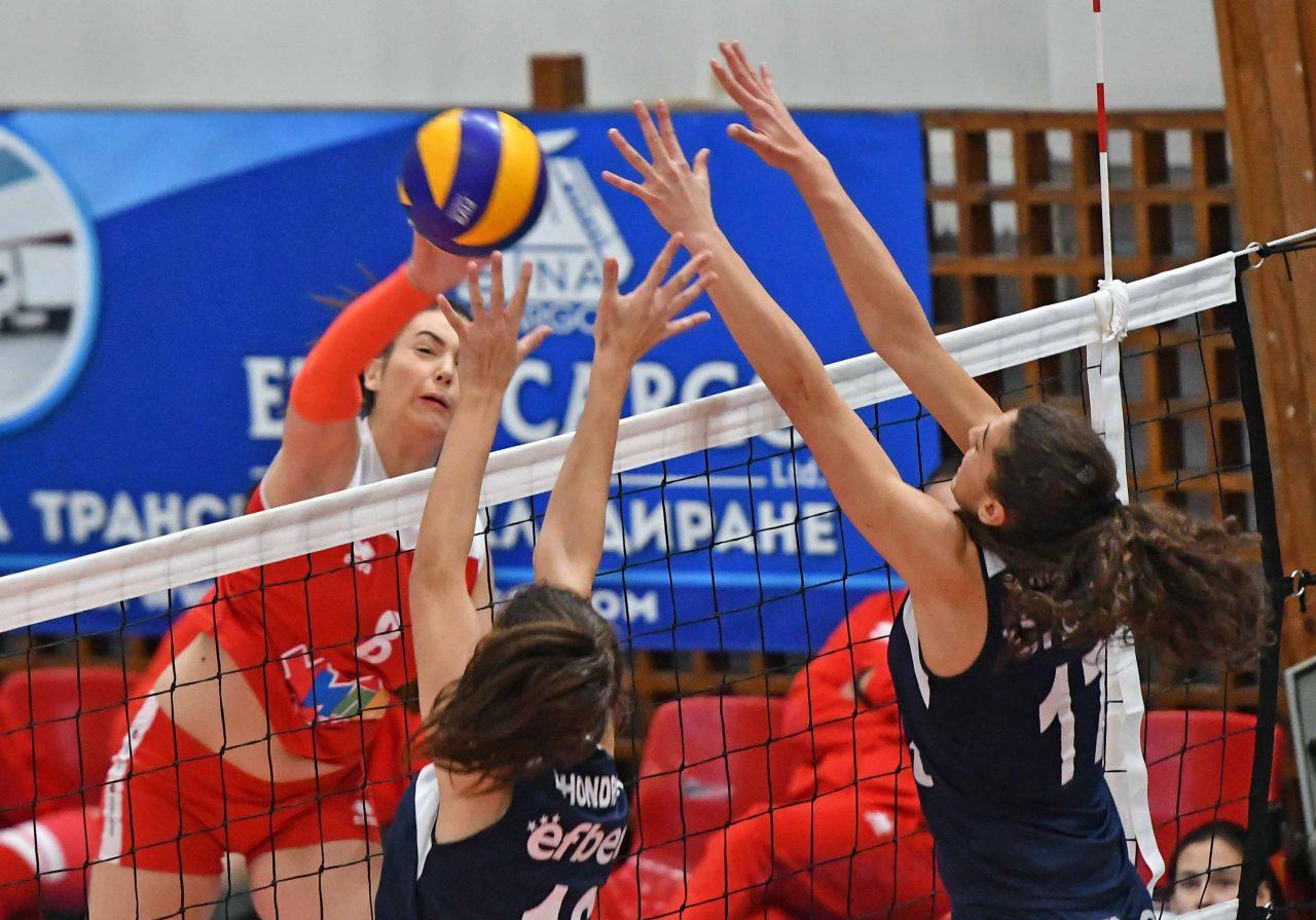 Цска Левски волейбол жени 16