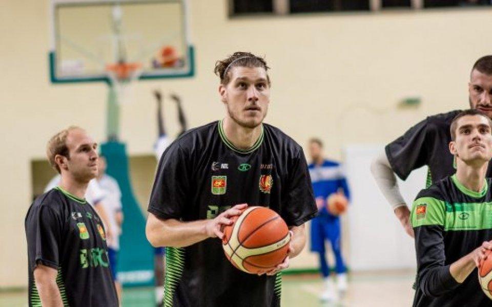 Делин Бачински, Берое, Баскетбол