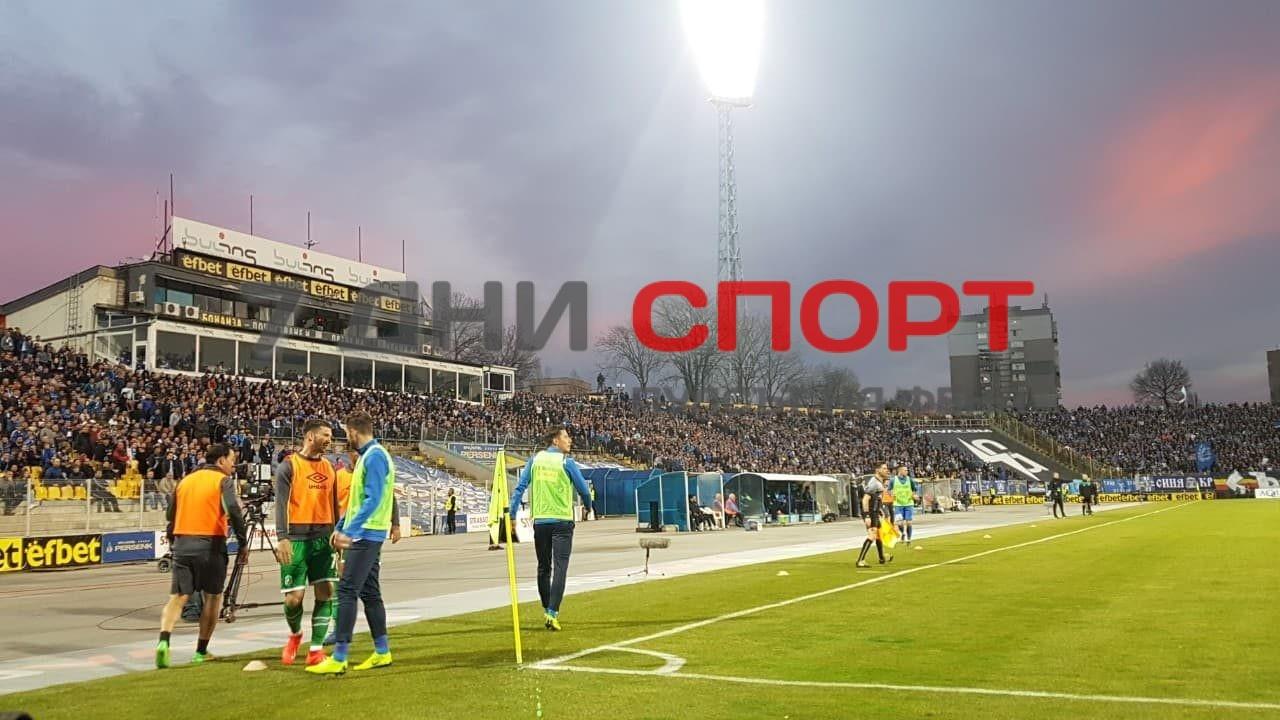 Стадион Фенове Левски-Лудогорец17