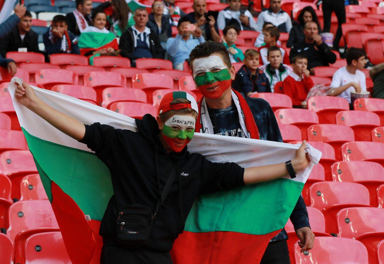 България - Англия, Фенове