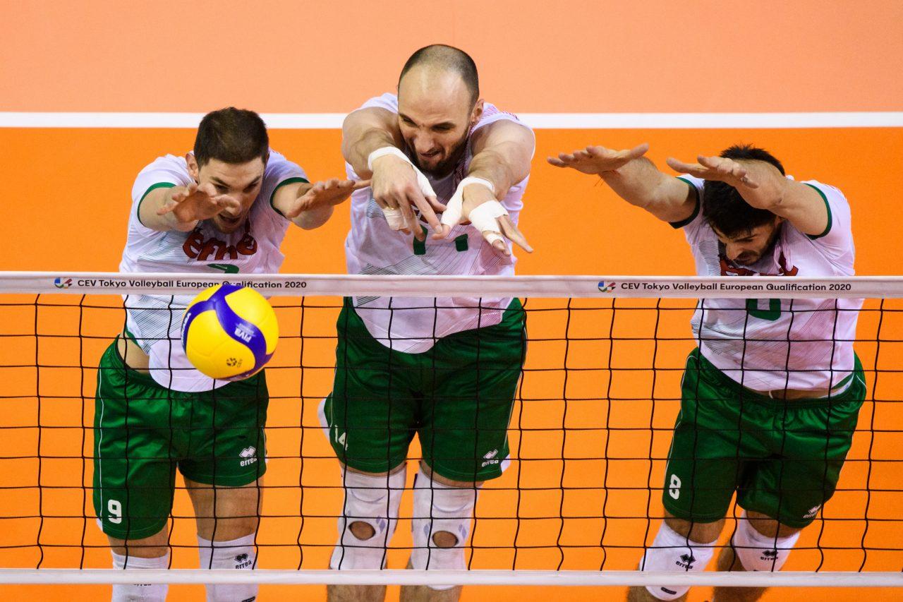 Volleyball, CEV Olympia-Qualifikation, Bulgarien (BUL) vs. Niederlande (NED)