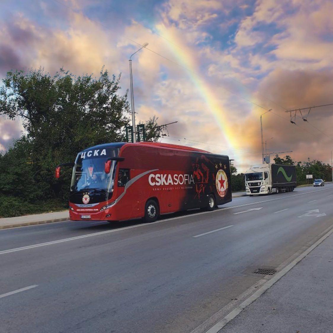 ЦСКА, Автобус